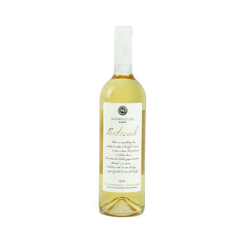 Pentozali frisse witte wijn 750 ml per fles