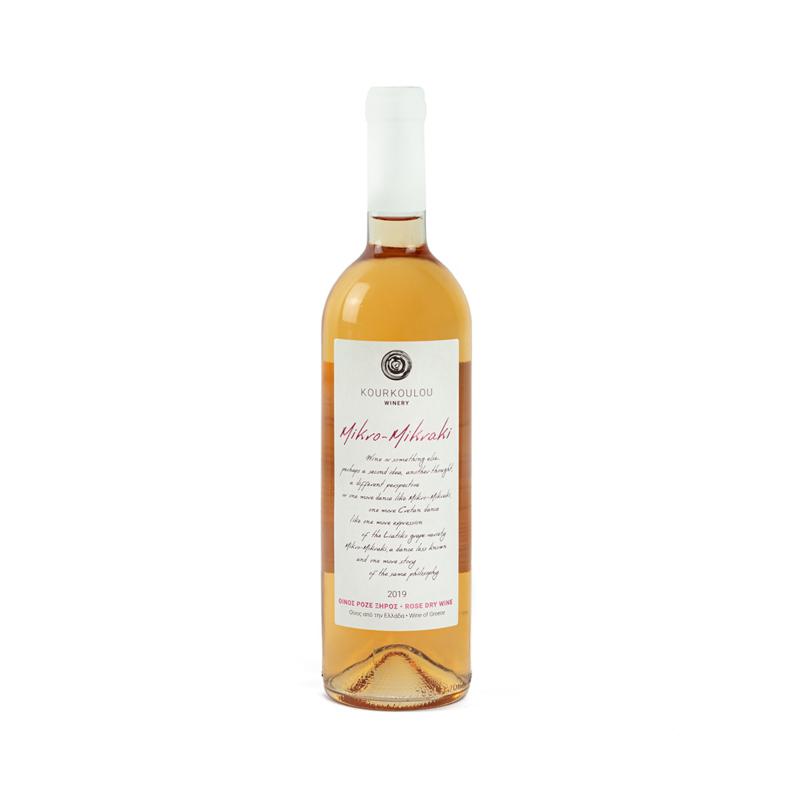 Mikro Mikraki lichte rosé 750 ml per fles