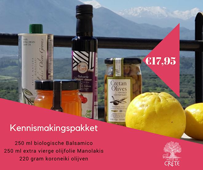 Proef de trots en passie van Kreta bij House of Crete in Amsterdam. Puur natuur olijfolie, honing, aardewerk, kaas, balsamico, kruiden en olijven.