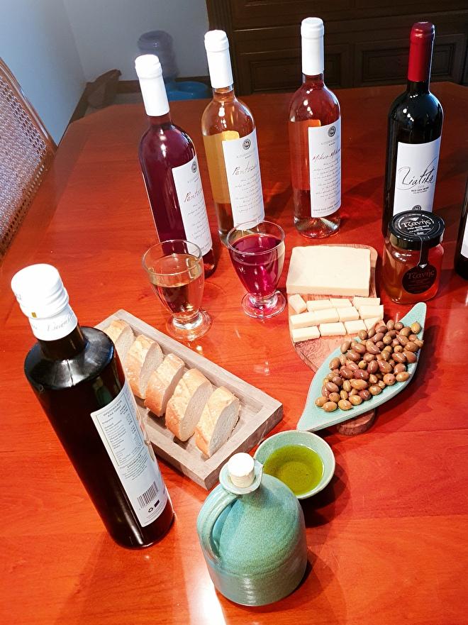 Wijnproeverij van House of Crete