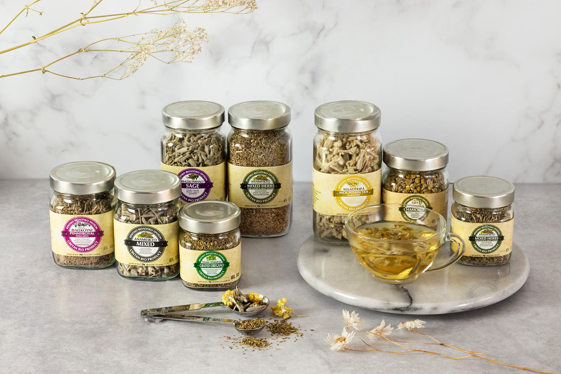 Puur natuur kruiden en thee uit Amari