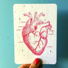 Growing Card My Heart is Yours