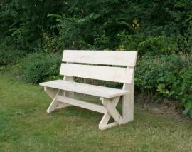 steigerhouten tuinbank - type Sanna L