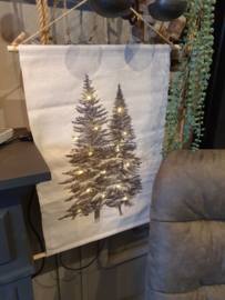 Led doek kerstbomen
