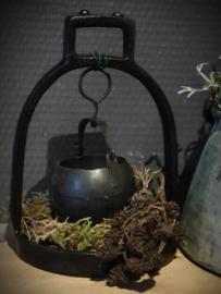 Stijgbeugel met waxinelichtje