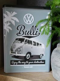 VW bus bewaarblik  (grote)