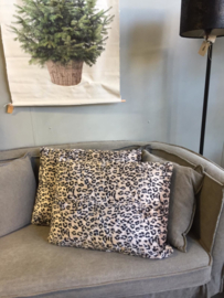 Kussen leopard (60 x 45 cm)