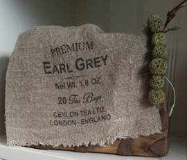 Linnen doek Earl Grey Tea