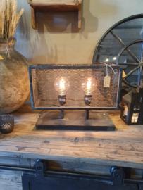 Tafellamp met gaaskap