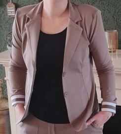 Travel blazer (taupe)