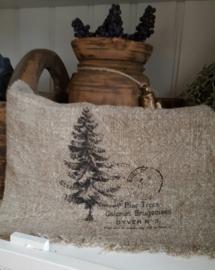 Linnen doek kerstboom (kleine)