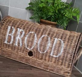 """Broodmand met tekst """"Brood"""" op klep"""