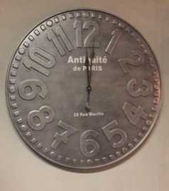 Stoere industriële klok