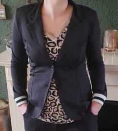 Travel blazer (zwart)
