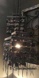 Unieke stoere, sobere hanglamp