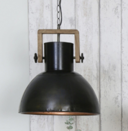 Stoere industriële hanglamp
