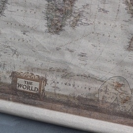 Wonderbaarlijk Wereldkaart | Wanddecoratie | 't Sfeermoment BR-26