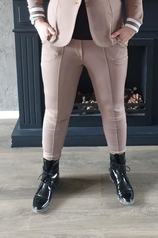 Travel pantalon (taupe)