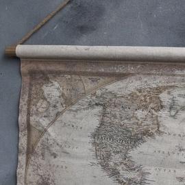 Verwonderend Wereldkaart | Wanddecoratie | 't Sfeermoment TJ-26