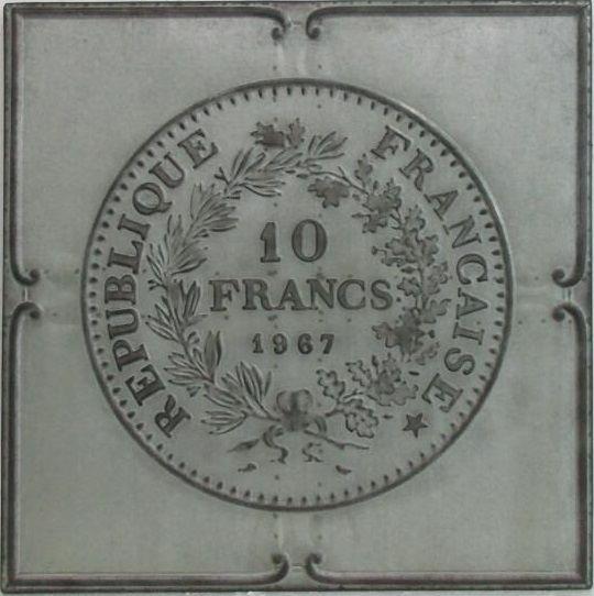 Franse Franc schilderij