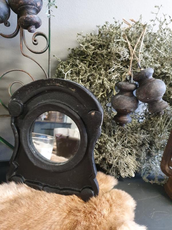 Ossenoogspiegeltje Antique Black