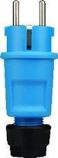 ABL rubber RA steker met wurgwartel blauw