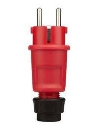 ABL rubber RA steker met wurgwartel rood