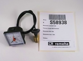 Remeha Quinta manometer      S58938