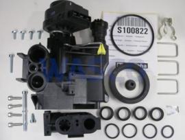 Remeha hydroblok rechts met actuator druksensor S100822