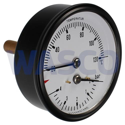"""Remeha manothermometer 63mm 1/2"""" S55504  =  S30523"""