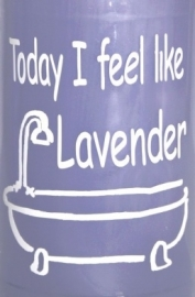 Today I feel like Lavender 2 stuks