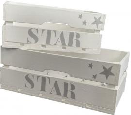 """Kleine Kiste  """"Star""""  1 St."""