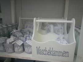 """Hölzerne box xl """"Wascheklammern"""" 2 St."""