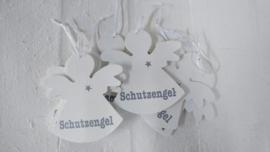 """Engel holz 3mm """"Schutzengel""""6 St."""