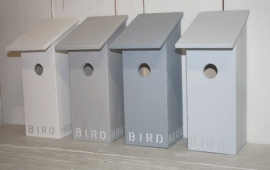 Vogelhuis Birdhouse laag
