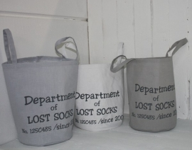 "Stoff-Korb ""Department of Lost Socks""1 St."