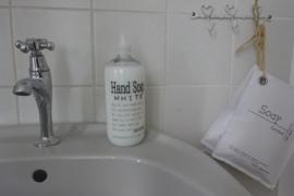 Handzeep - White 4 st.