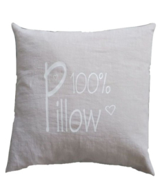 Kissen50 100% Pillow grau