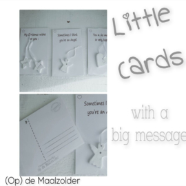Little Cards - Angel 6 st.