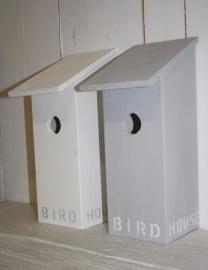 Vogelhuis Birdhouse hoog