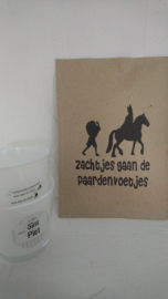 Geursachet Craft bruin zachtjes gaan de paardenvoetjes 6 st.