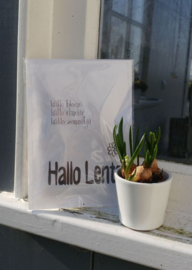 Geursachet Craft wit Hallo Lente 6 st.