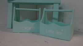 "Holz Box  ""Little Star"" 2 St."