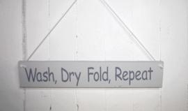 Bord Wash, Dry, Fold, Repeat
