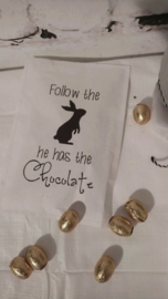 Geursachet Craft wit Follow the Bunny 6 st.
