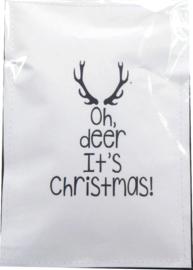 Geursachet Craft wit Oh deer  6 st.