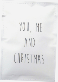 Geursachet Craft wit You ,me and christmas  6 st.