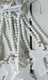 Keramik Schutzengel 6 St an Perlenkette