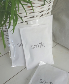 Geursachet Craft wit Smile 6 st.