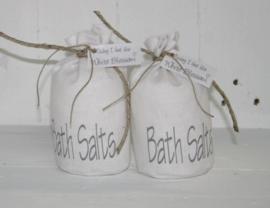 Badzoutzak linnen Bathsalts 2 stuks